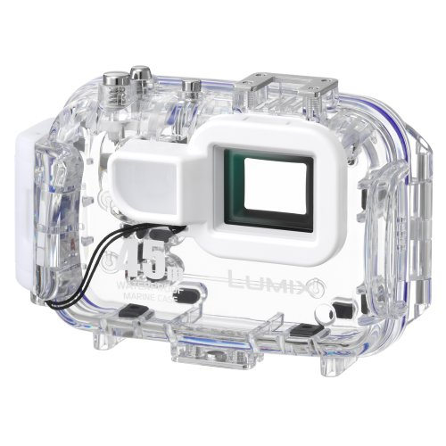 Panasonic-DMW-MCFT5-Marine-Case-for-Select-Lumix-Digital-Cameras-WhiteClear