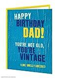 Vintage Cheese Dad Greeting Card
