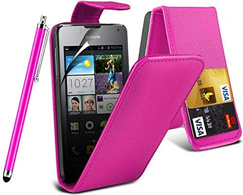 baba-essentials-4u-huawei-ascend-y300-pink-ec-kunstleder-tasche-bankkarten-lederklapphulle-stylus-pe