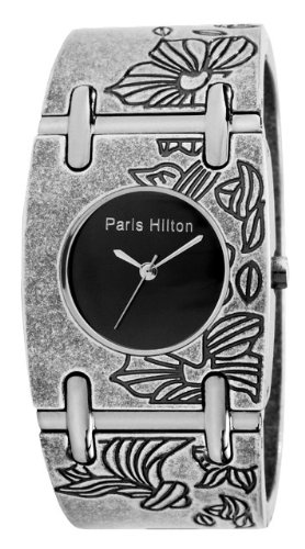 Paris Hilton Bangle 138.4471.60 Wristwatch for Her Vintage Look