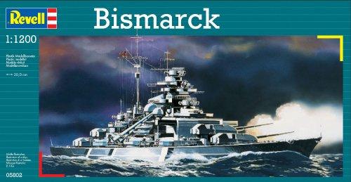 Revell of Germany BISMARCK Plastic Model Kit (Bismarck Model compare prices)