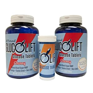 Glucolift Cherry 2-pack with Free Travel Tube