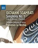 Giovanni Sgambati : Symphonie n° 1 - Cola di Rienzo (ouverture)