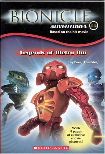 Image for Bionicle Adventures #4: Legends of Metru Nui