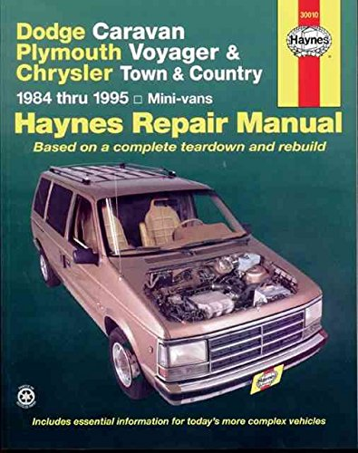 dodge-caravan-and-plymouth-voyager-automotive-repair-manual-by-curt-choate-published-september-1988