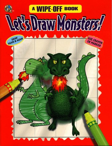 Let's Draw Monsters (A Wipe-Off Book)