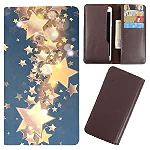 DooDa - For Micromax Bolt A068 PU Leather Designer Fashionable Fancy Case Cover Pouch With Card & Cash Slots & Smooth Inner Velvet