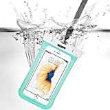 iPhone7/iPhone6s 防水ケース ESR スマホ防水ケース 防水カバー 防水保護等級IPX8取得 水深30m防水テスト 安全ロック100%密封 内蔵ポケット付属 iphoneSE/5s/iPhone6s Plus/iPhone6s/Samsung Galaxyなど6センチ以下全機種対応 iphone6/6s携帯防水ポーチ グリーン