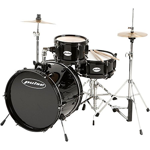 pulse-3-piece-deluxe-junior-drum-set-black