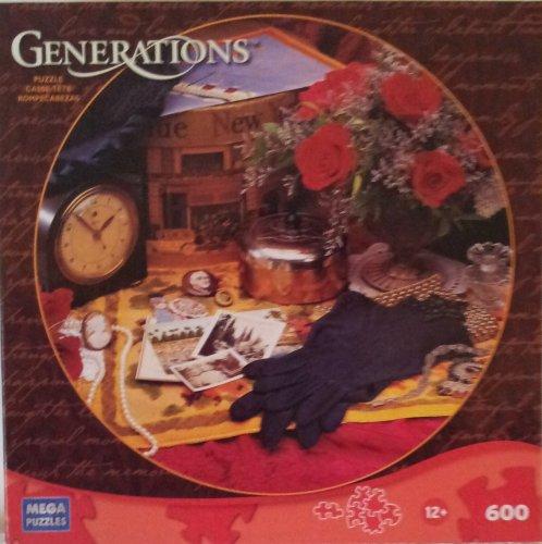 Generations 600 Piece Jigsaw Puzzle Nostalgic Memories