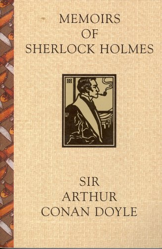 Large book cover: Memoirs of Sherlock Holmes