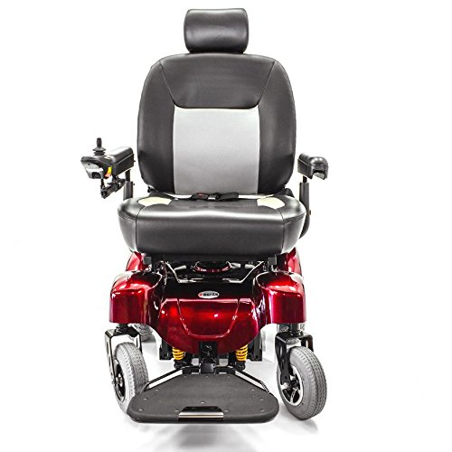 ATLANTIS Heavy Duty Bariatric Electric Power Wheelchair Merits P710 + Free Challenger Cover