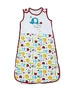 Pitter Patter Baby Gifts Saco de Dormir (Multicolor / Rojo)