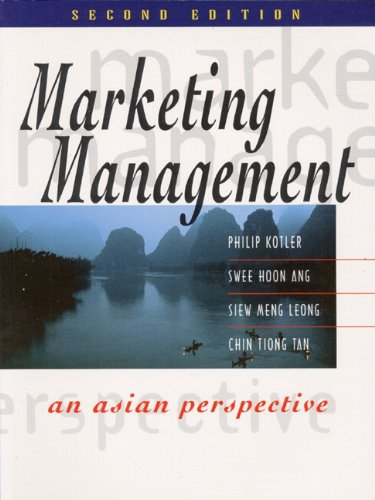Marketing Management: An Asian Perspective (2nd Edition)