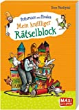 Pettersson und Findus - Mein kniffliger Rätselblock