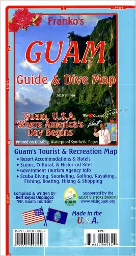 Franko's Guam Guide & Dive Map