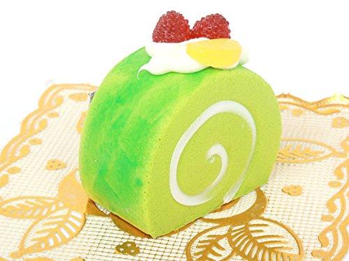 ロールケーキ型 ヘアピン 子ども 抹茶 スイートティーブレイク
