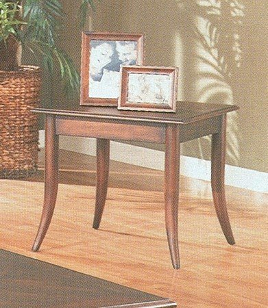Cheap Corsica Style Walnut Finish Wood Occasional Side End Table (VF_700087)