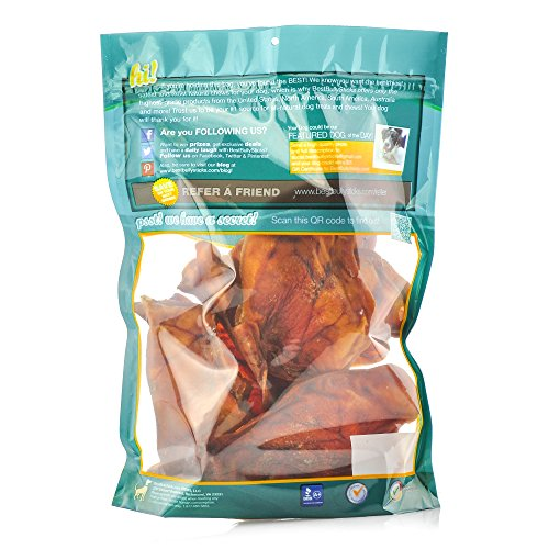 usa pig ears by best bully sticks 8 20 pack thick cut. Black Bedroom Furniture Sets. Home Design Ideas