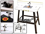 Deluxe Router Table, Fence and Stand Kit - Yonico 21033