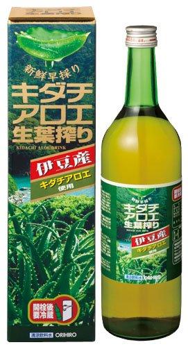 オリヒロ キダチアロエ生葉搾り100% 720ml
