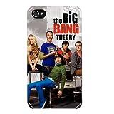 Hairyworm- Big Bang Theory iphone 5, 5s Harte hintere Kunststoff-Schutzhülle für das Handy
