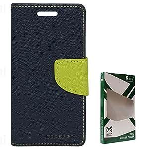 Mercury Goospery Leather Flip Diary Case for Motorola Moto E XT1022 (Pebble Blue-Green)