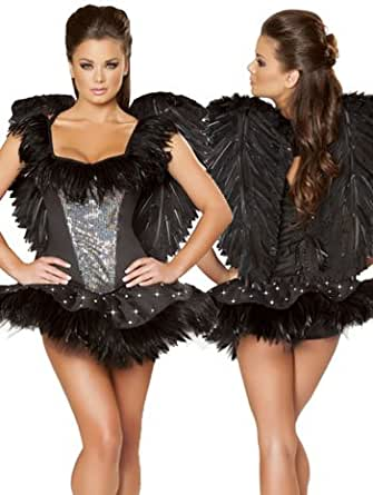 Sexy Swan Dark Angel Costume