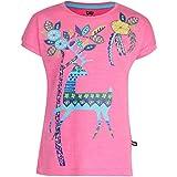 Bells & Whistles Girls' T-Shirt (AW15-INDIA-04_Pink_9 - 10 years)