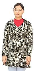 Romano Classy Multi-Coloured 100% Wool Warm Winter Pullover Top For Women