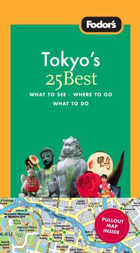 Fodor's Tokyo 25 Best, 7th Edition