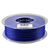 ZIRO 3D Printer Filament PLA 1.75 1KG(2.2lbs), Dimensional Accuracy +/- 0.05mm, Blue by ZIRO
