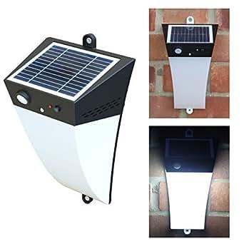 Frostfire Solar Garden Light With Optional Sound Alarm
