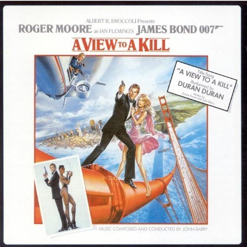Original album cover of A View to a Kill by Duran Duran Original recording reissued, Original recording remastered, Soundtrack edition (2003) Audio CD by James Bond - OST