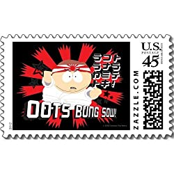 South Park: Cartman Oots Bung Sow! Postage