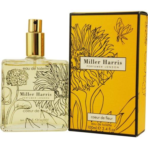 Miller Harris Eau de Spray, Coeur de Fleur, 3.4 Ounce