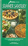 img - for Summer Savoury [Cookbook] book / textbook / text book