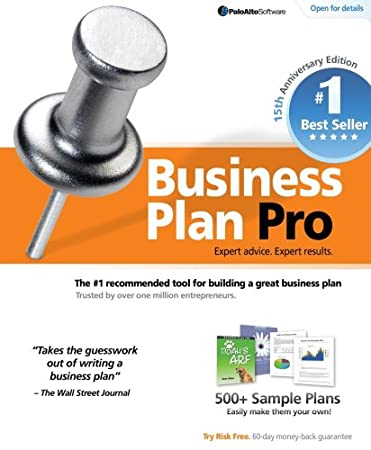 Business Plan Pro 15th Anniversary Edition  [Download] [OLD VERSION]