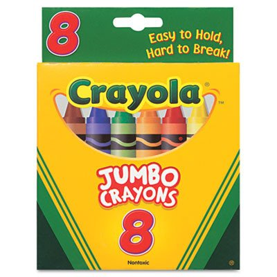 So Big Large Crayons (8/Box) [Set of 2]