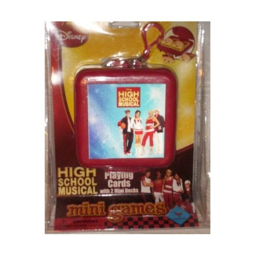 High School Musical Mini Games Playing Cards