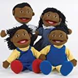 Marvel Education Company Family Puppet Set African American Family