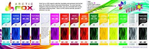 Arctic Fox 100 Vegan Wrath Semi Permanent Hair Color Dye