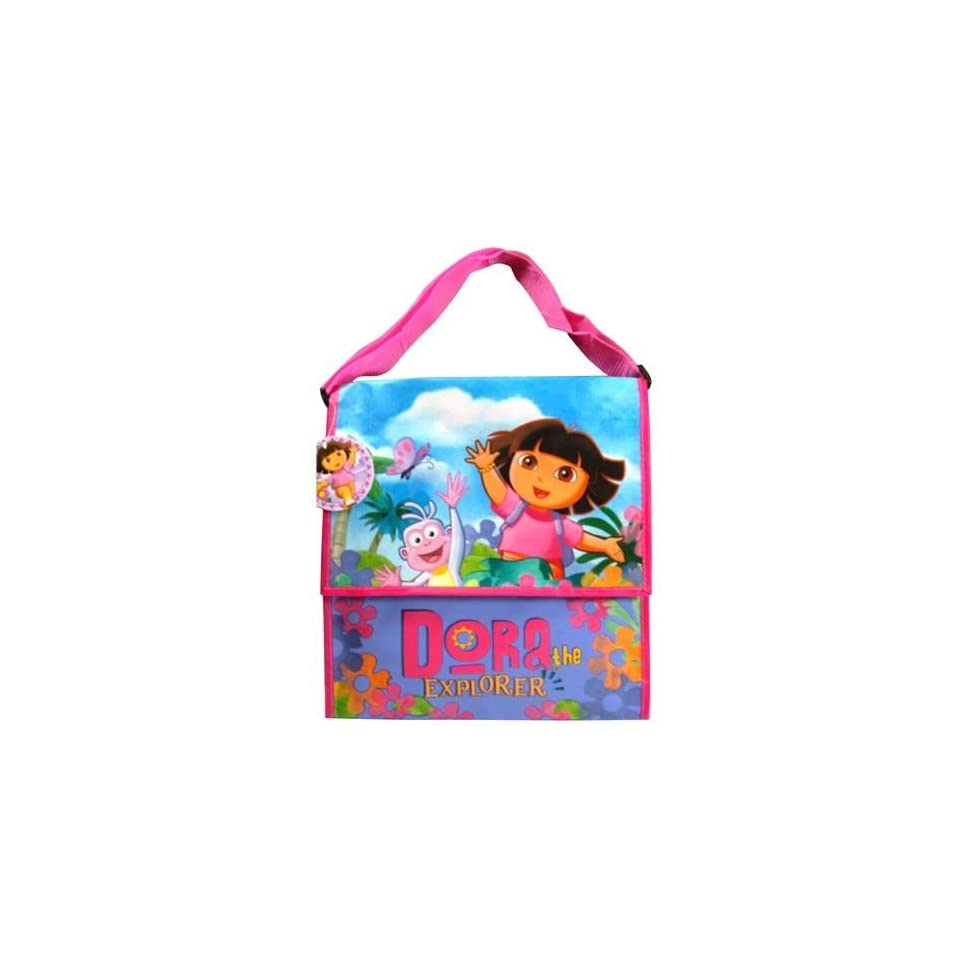 8d02656082d2 Dora the Explorer Messenger Bag with Matte All Around Printing   Velcro