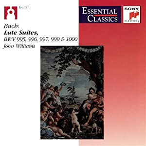 John Williams -  Bach: Lute Works Vol. 2
