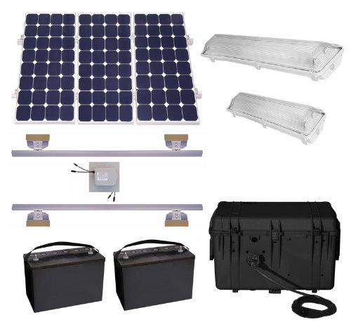 Lifetime Sheds: Suninone Solar Shed Lighting And Power Kit