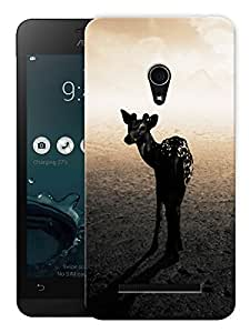 "Humor Gang Zebra Life Printed Designer Mobile Back Cover For ""Asus Zenfone 5"" (3D, Matte, Premium Quality Snap On Case)"