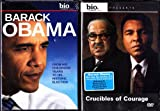 Barack Obama Biography and Biography of Muhammad Ali , Thurgood Marshall, Jesse Owens & Others Narrated By Barack Obama - Crucibles of Courage : Courageous Black Americans 2 Pack Collection