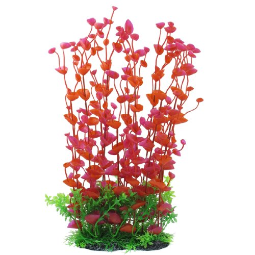 jardin-manmade-plastic-plant-for-fish-tank-142-inch-height-redgreen