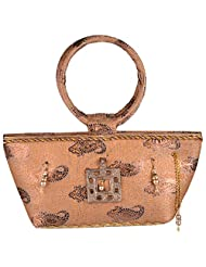 Cliink Art Handbag (Tan Gold)