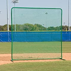 Buy 10'H x 10'W Varsity First Base Fungo Protective Screen by SSG